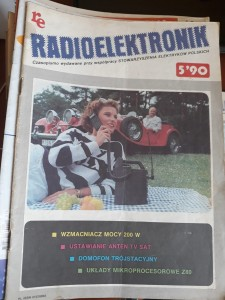 RADIOELEKTRONIK 5 1990 AUDIO VIDEO TANIO FAKTURA