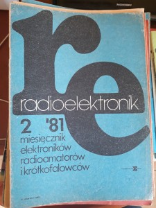 RADIOELEKTRONIK 2 1981 AUDIO VIDEO TANIO FAKTURA
