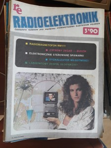 RADIOELEKTRONIK 3 1990 AUDIO VIDEO TANIO FAKTURA