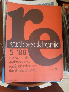 RADIOELEKTRONIK 5 1988 AUDIO VIDEO TANIO FAKTURA