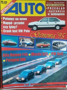 Auto International 4 1995 Alfa Romeo Mazda VW Golf