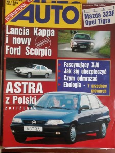 Auto International 12 1994 Astra Mazda Opel