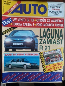 Auto International 3 1994 Laguna Ford Mondeo