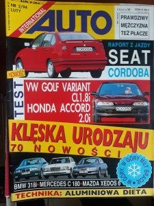 Auto International 2 1994 Seat Cordoba
