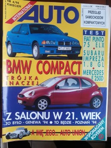 Auto International 4 1994 BMW Compact