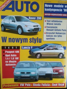 Auto International 1 1996 Peugot Lancia Skoda