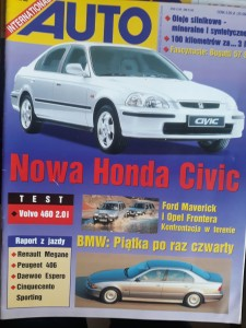 Auto International 11 1995 Honda Civic BMW