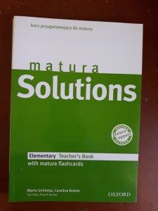 MATURA SOLUTIONS ELEMENTARY TEACHER'S BOOK