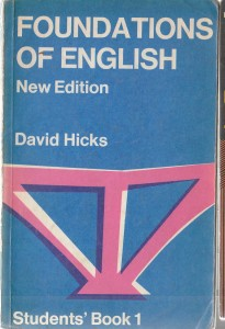 FOUNDATIONS OF ENGLISH NEW EDITION HICKS OPIS TANI