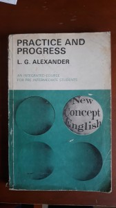 ALEXANDER PRACTICE AND PROGRESS NEW CONCEPT ENGLIS