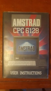 Amstrad CPC 6128 user instructions UNIKAT FAKTURA