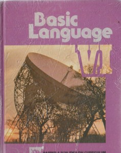 BASIC LANGUAGE MESSAGES AND MEANINGS ANGIELSKI