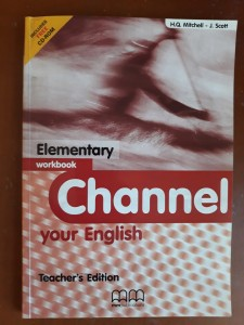 CHANNEL YOUR ENGLISH ELEMENTARY WORKBOOK + CD