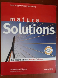 MATURA SOLUTIONS PRE-INTERMEDIATE STUDENT'S BOOK