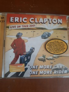 ERIC CLAPTON LIVE ON TOUR 2001 2 CD