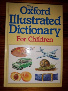WESTON THE OXFORD ILLUSTRATED DICTIONARY FOR CHILD