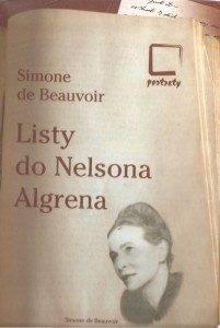 BEAUVOIR LISTY DO NELSONA ALGRENA NOWA FAKTURA