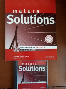 MATURA SOLUTIONS PRE-INTERMEDIATE WORKBOOK + CD