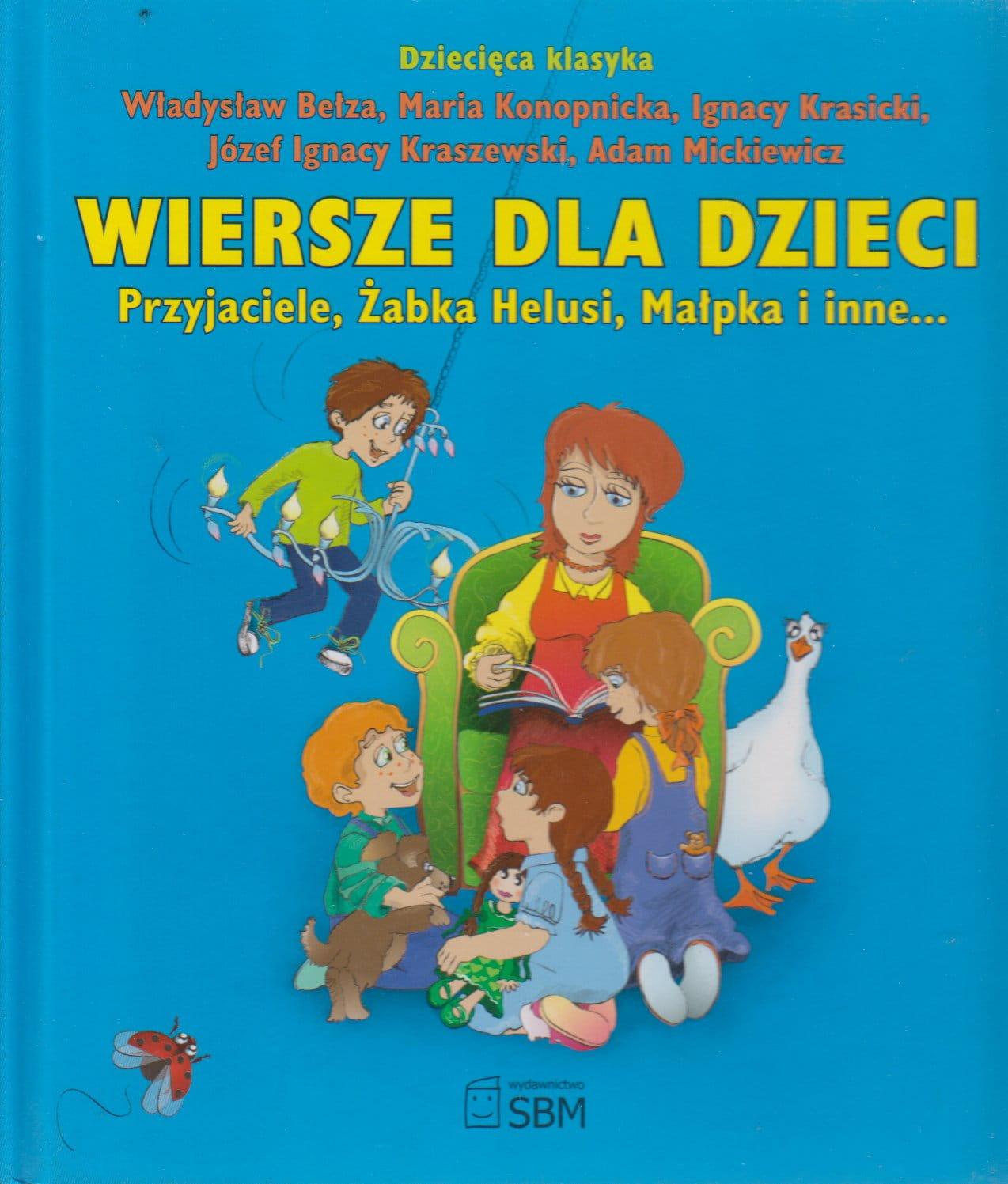 Wiersze Dla Dzieci Przyjaciele żabka Helusi Małpka